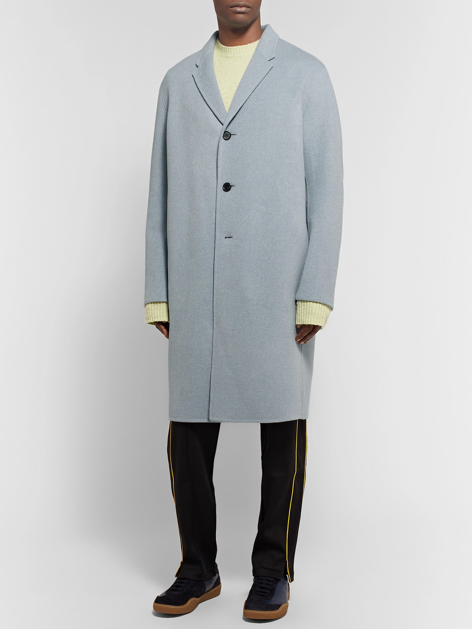 Acne Studios Chad Oversized Wool and Cashmere-Blend Coat