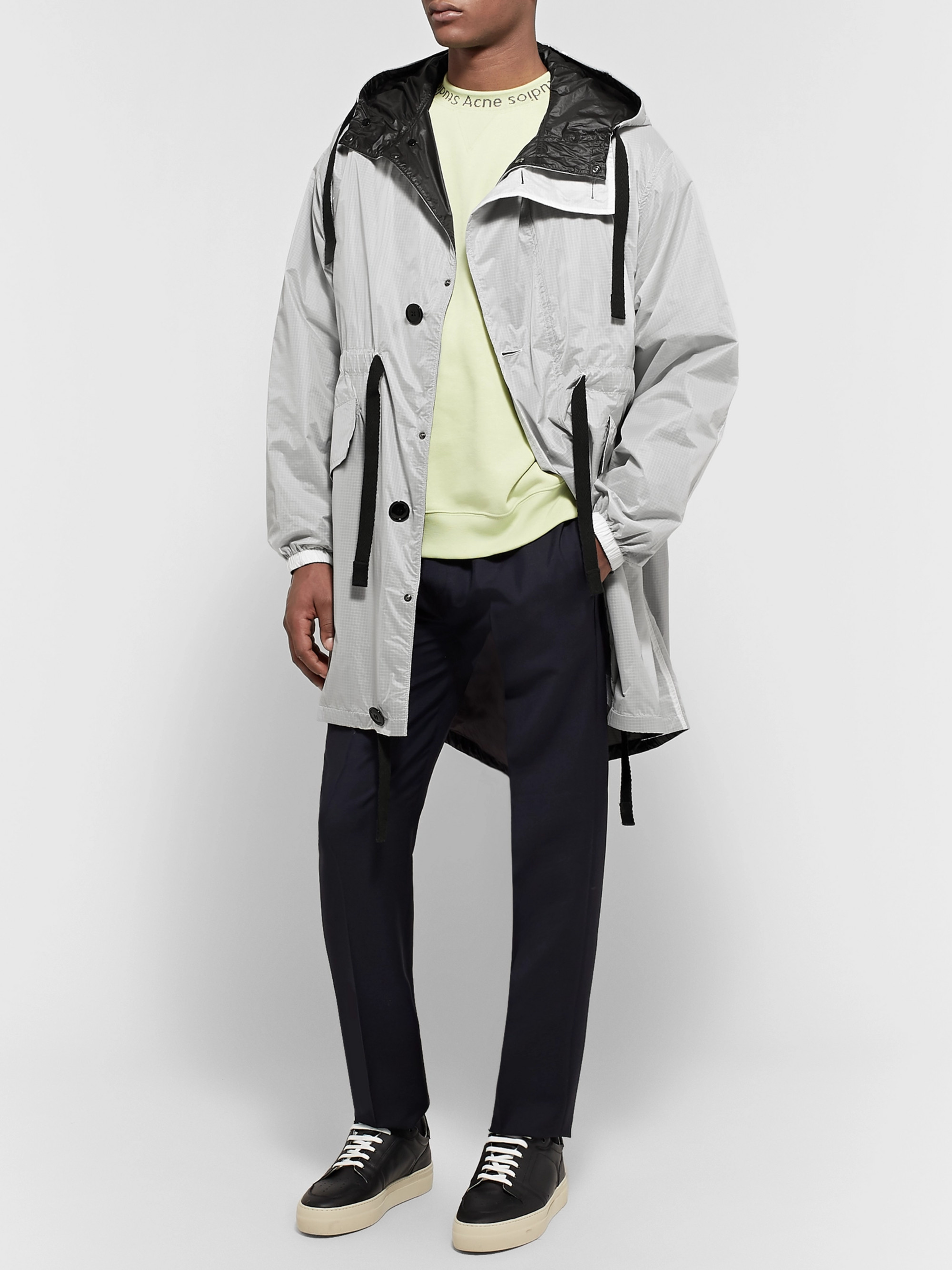 Acne Studios Ola Oversized Nylon-Ripstop Hooded Parka