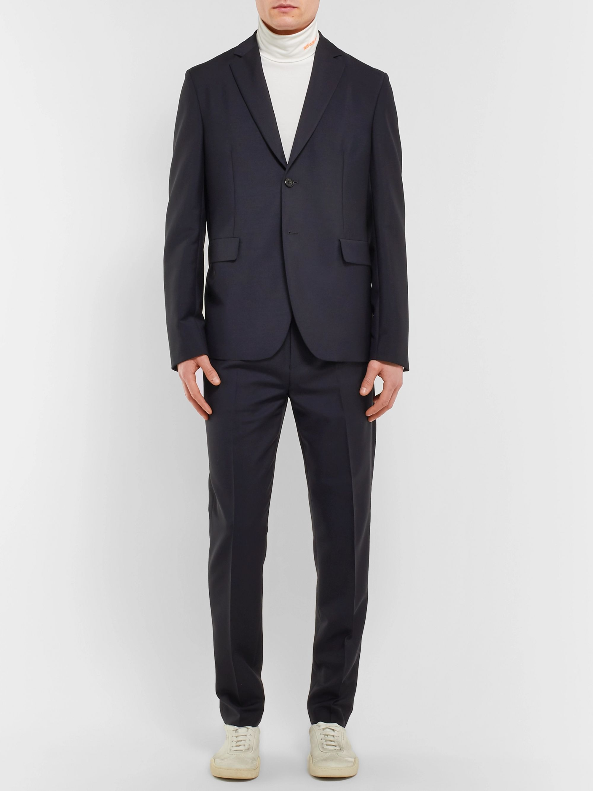 7a667535072 Black Ryder Wool and Mohair-Blend Trousers
