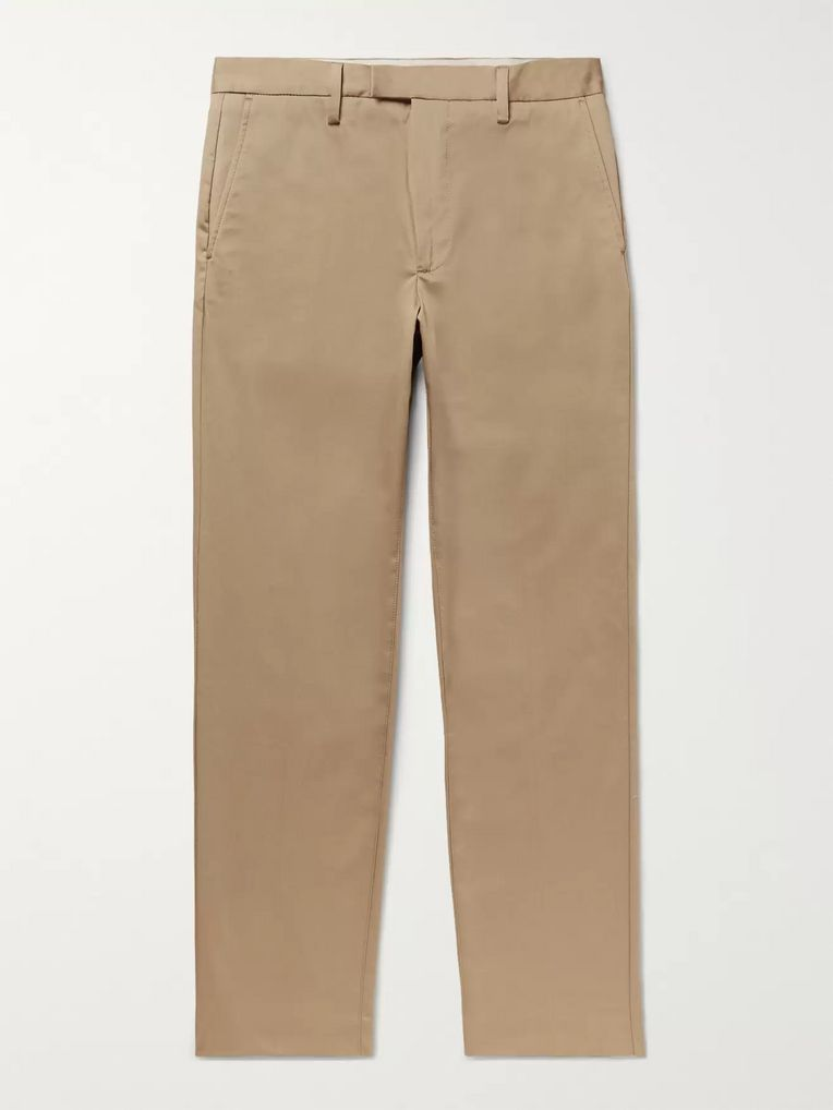Acne Studios Ayan Slim-Fit Cotton-Blend Trousers