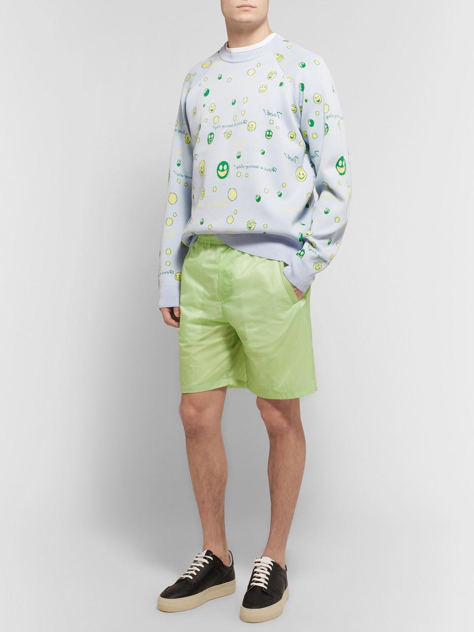 c358dac5bd Green Romeo Nylon-Ripstop Shorts | Acne Studios | MR PORTER