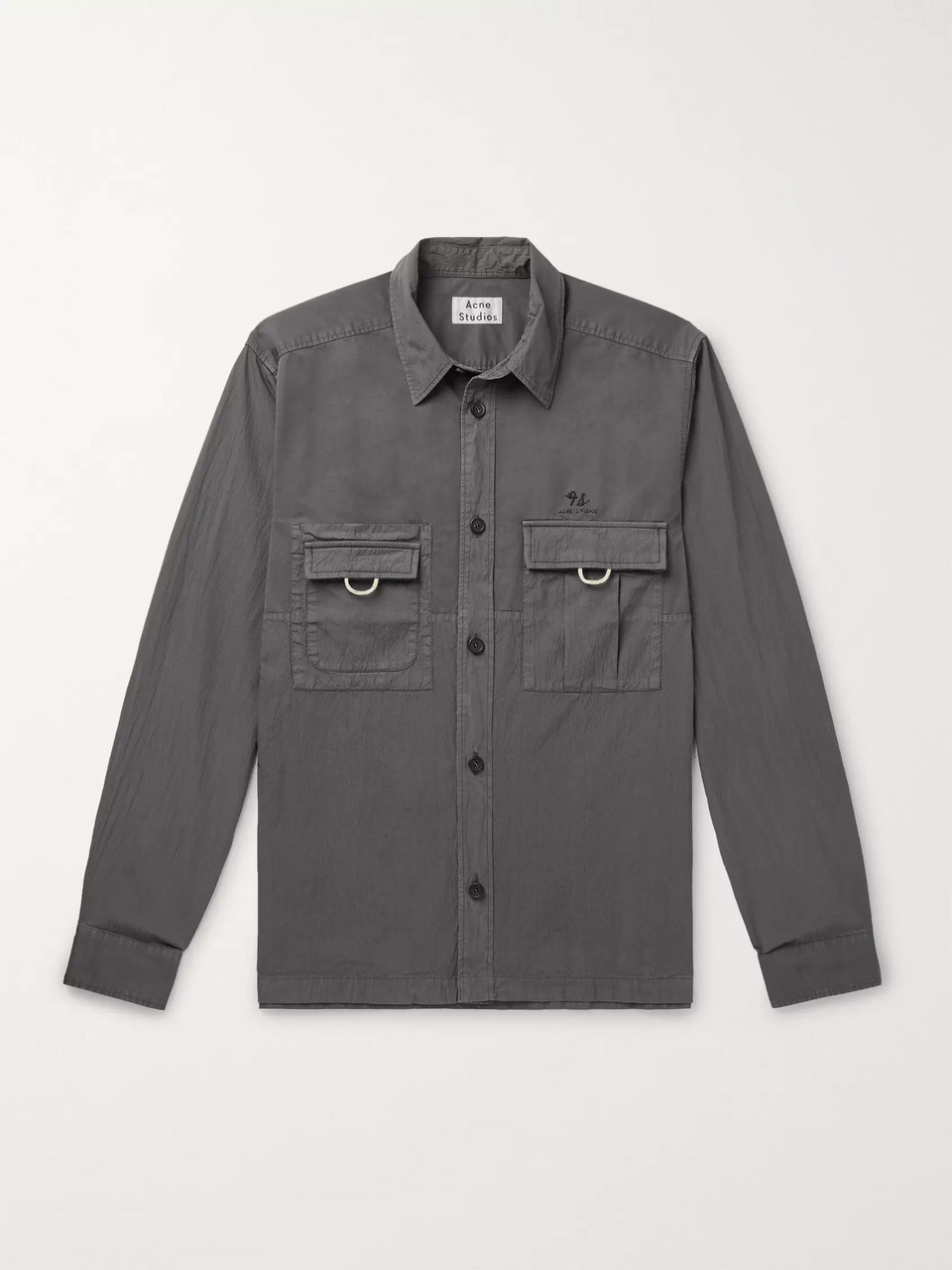 Acne Studios Sandy Cotton-Blend Overshirt