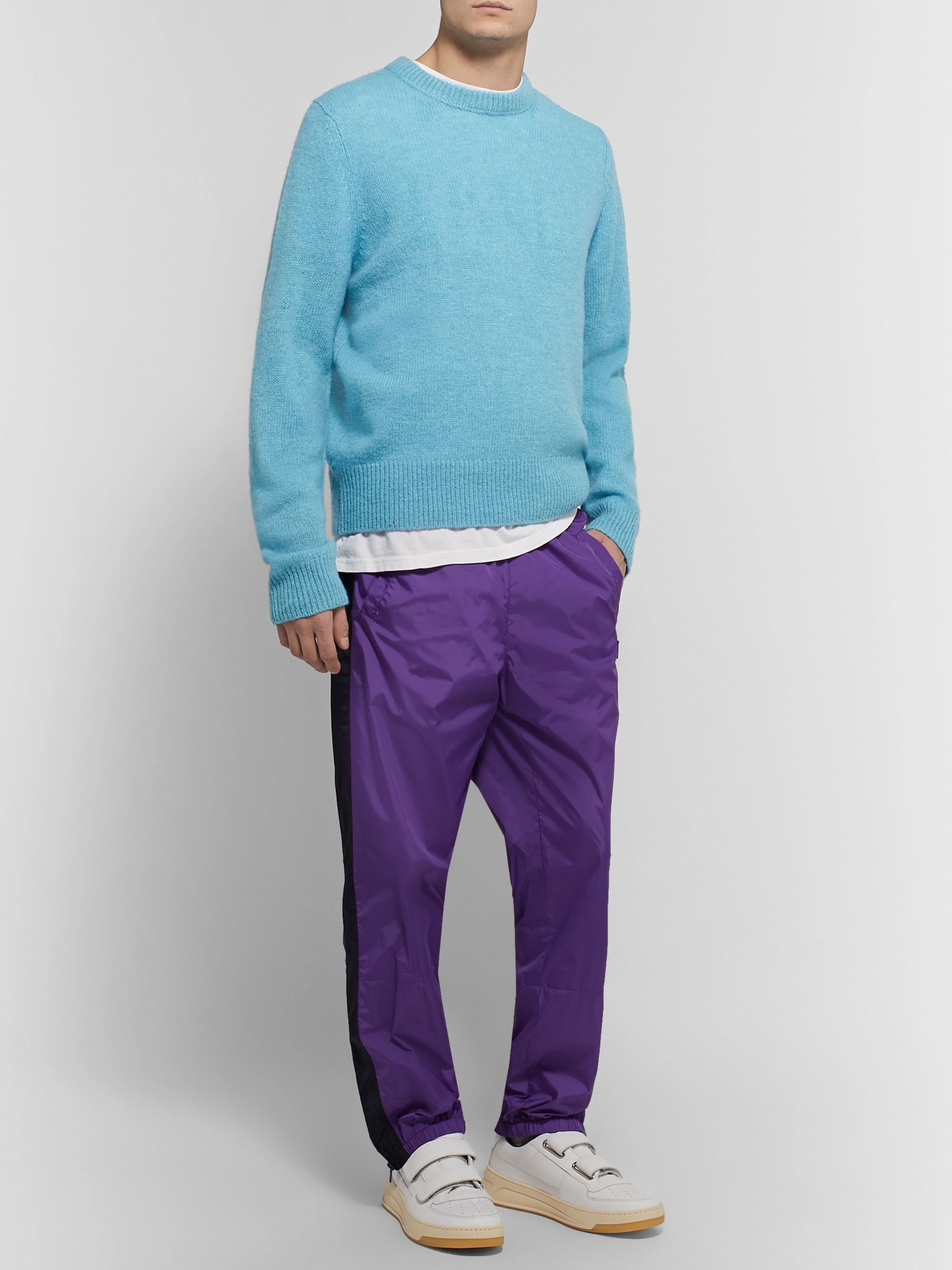 Acne Studios Kai Mélange Wool Sweater