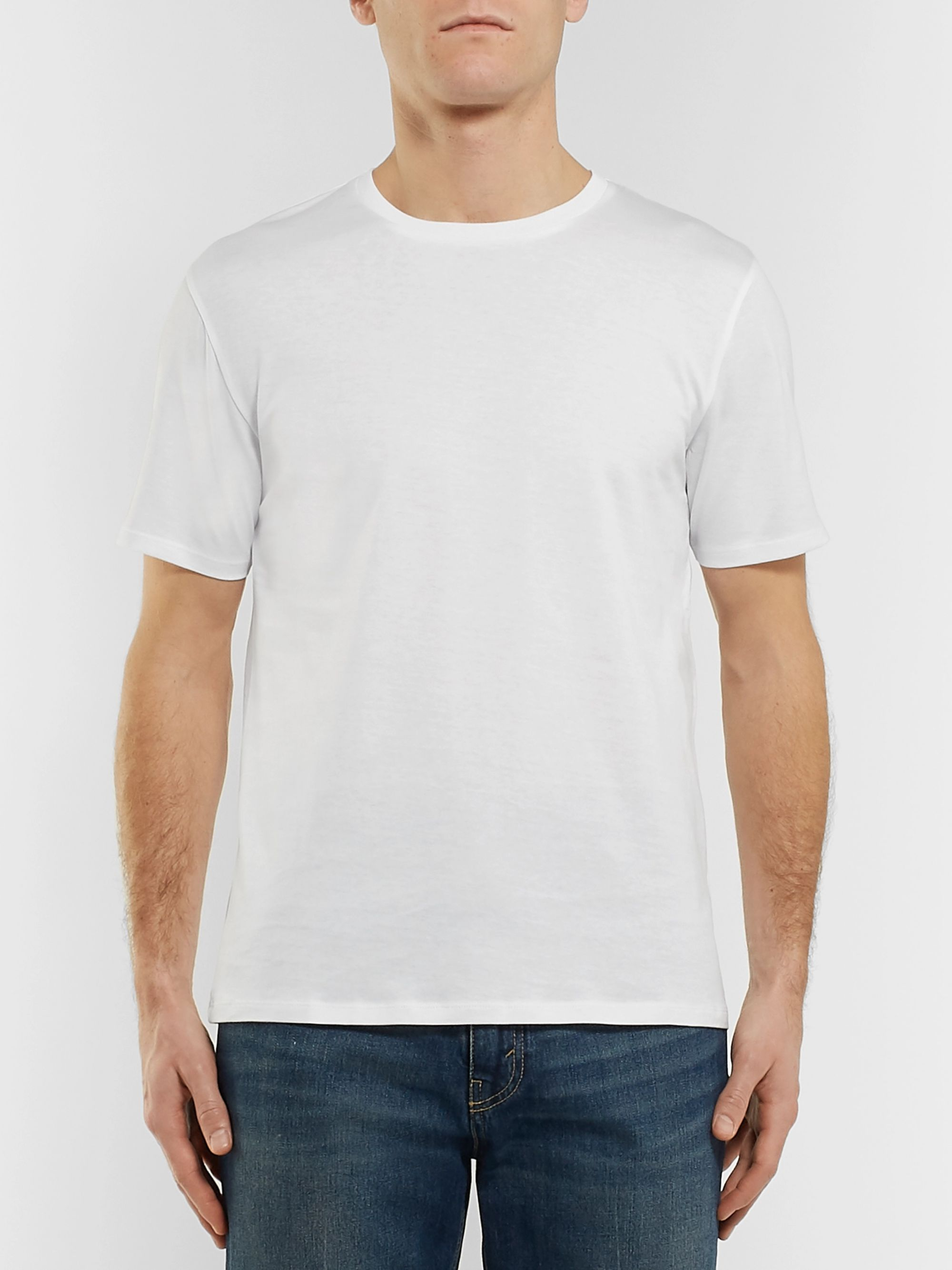 Acne Studios Measure Cotton-Jersey T-Shirt
