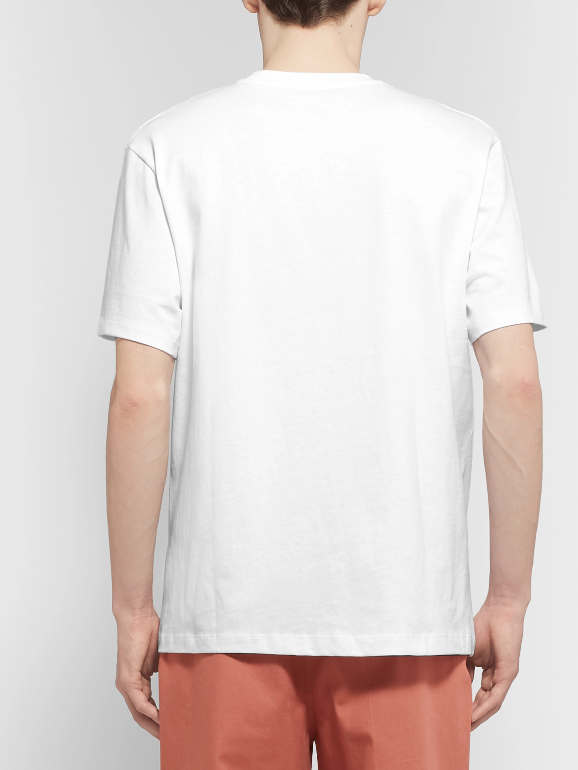 Acne Studios Jaceye Printed Cotton-Jersey T-Shirt
