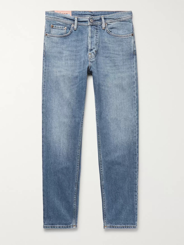 acne studios - river slim-fit tapered denim jeans - men - blue