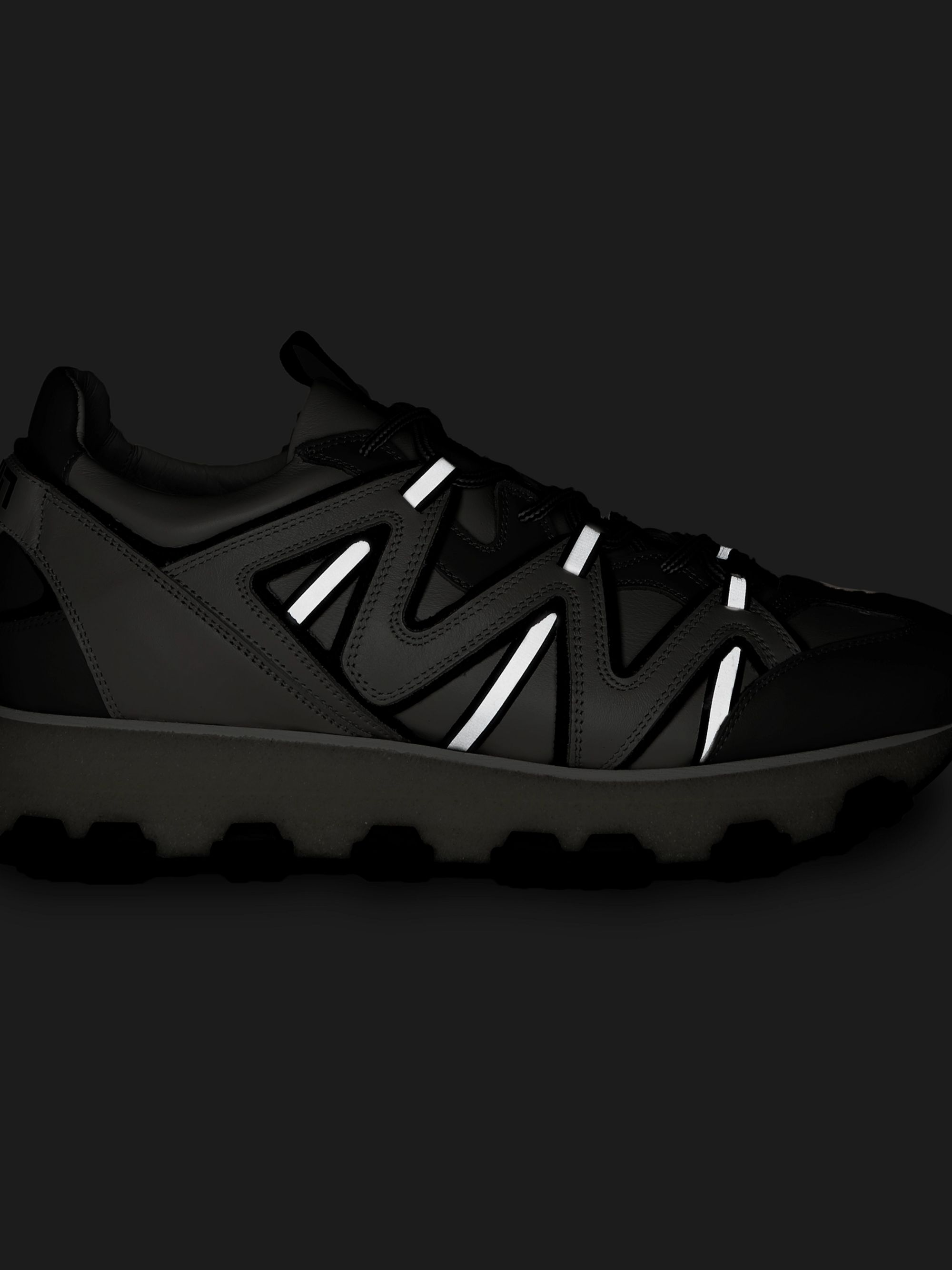 Lightning Leather Sneakers