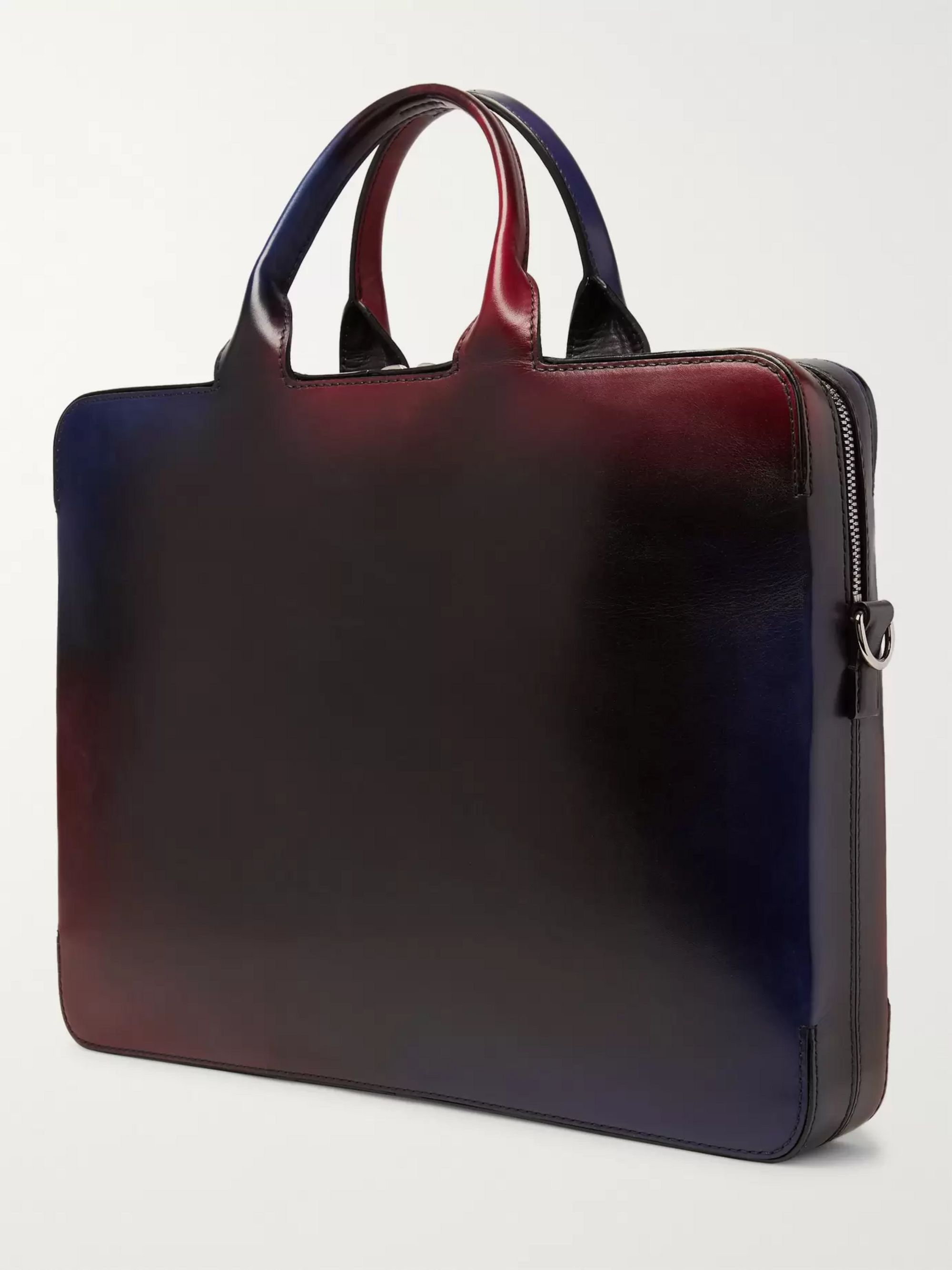 Berluti Profil 3 Venezia Leather Briefcase