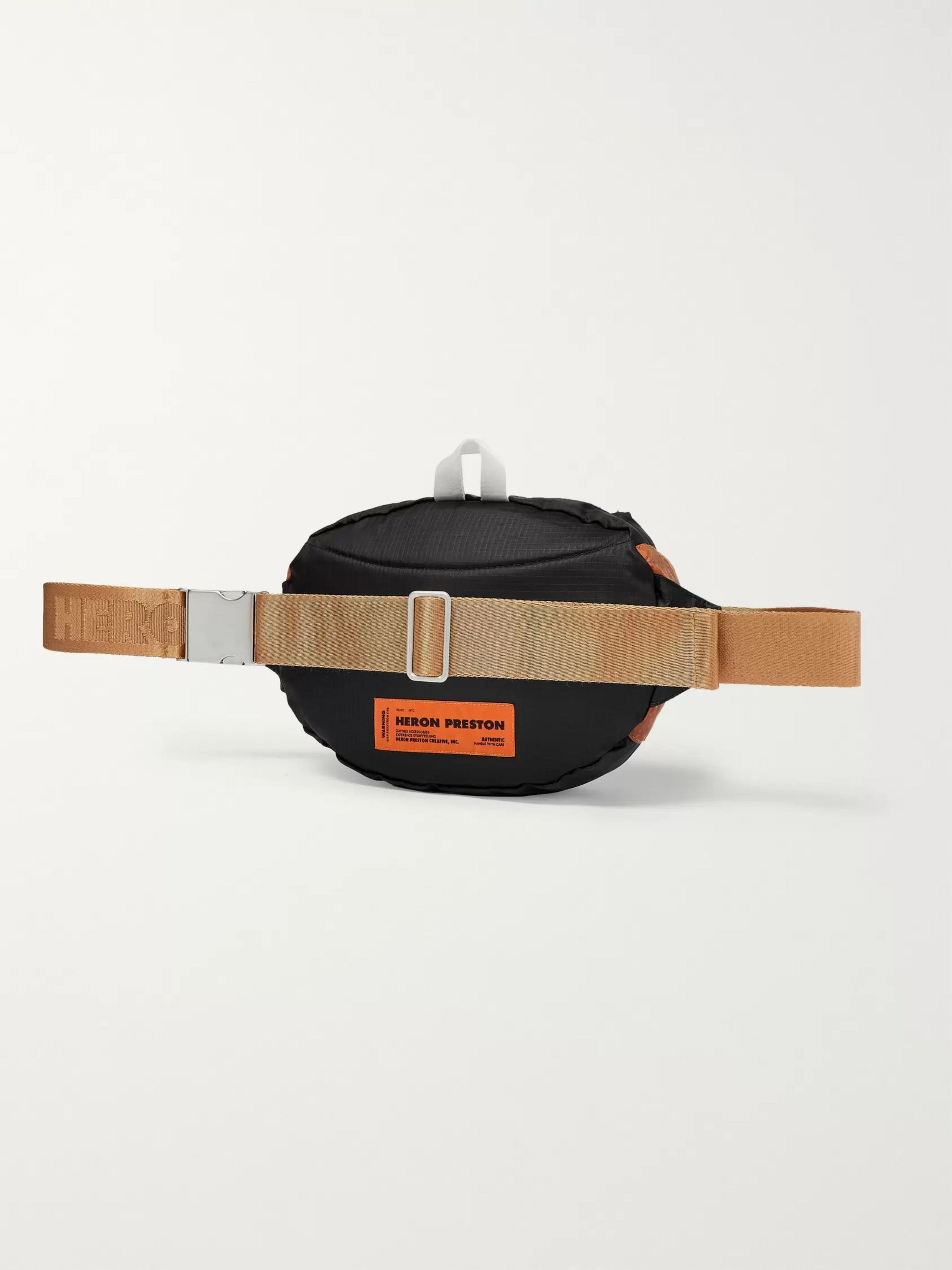 Heron Preston Printed Nylon Belt Bag