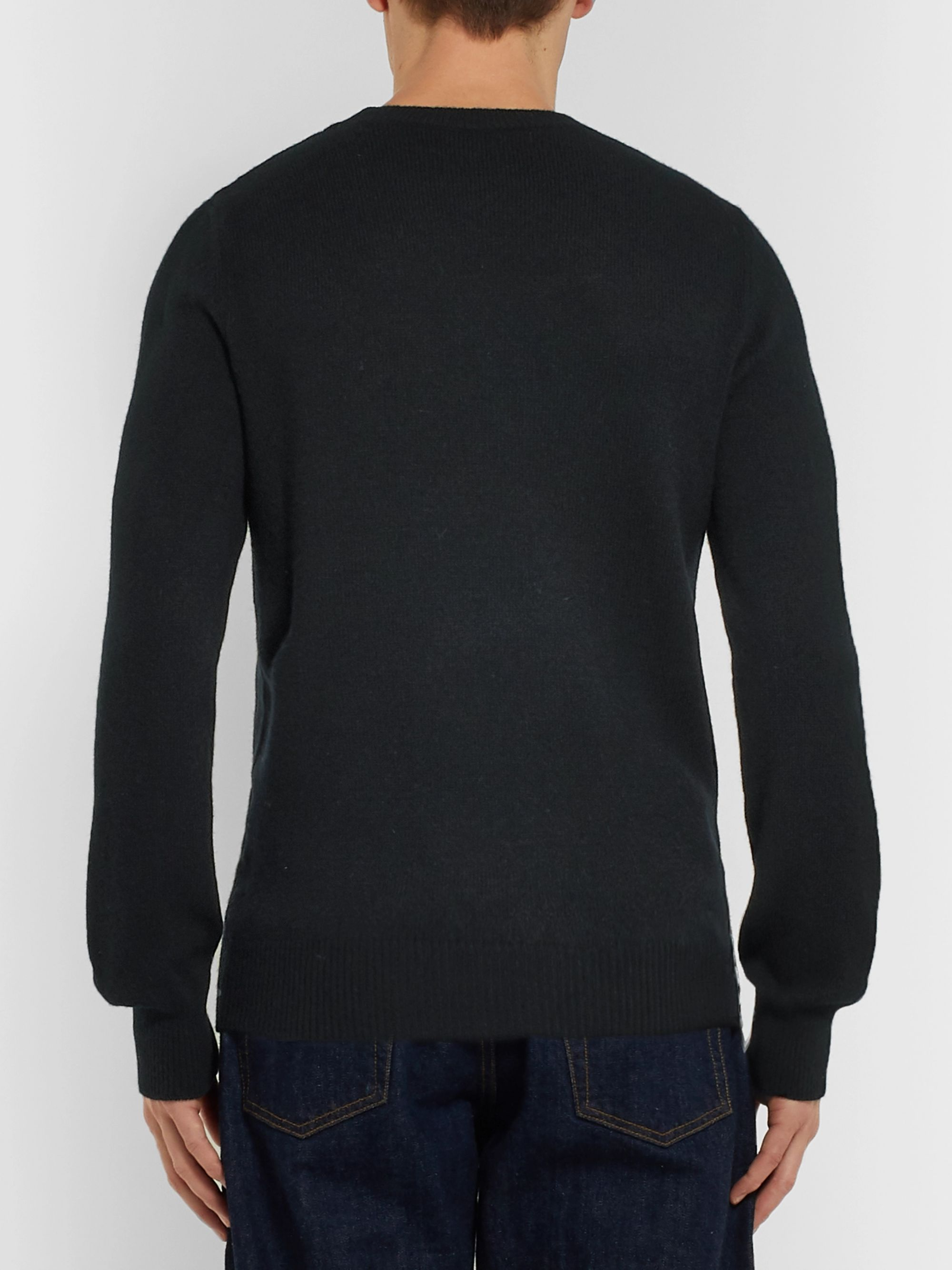A.P.C. Colin Wool and Cotton-Blend Sweater