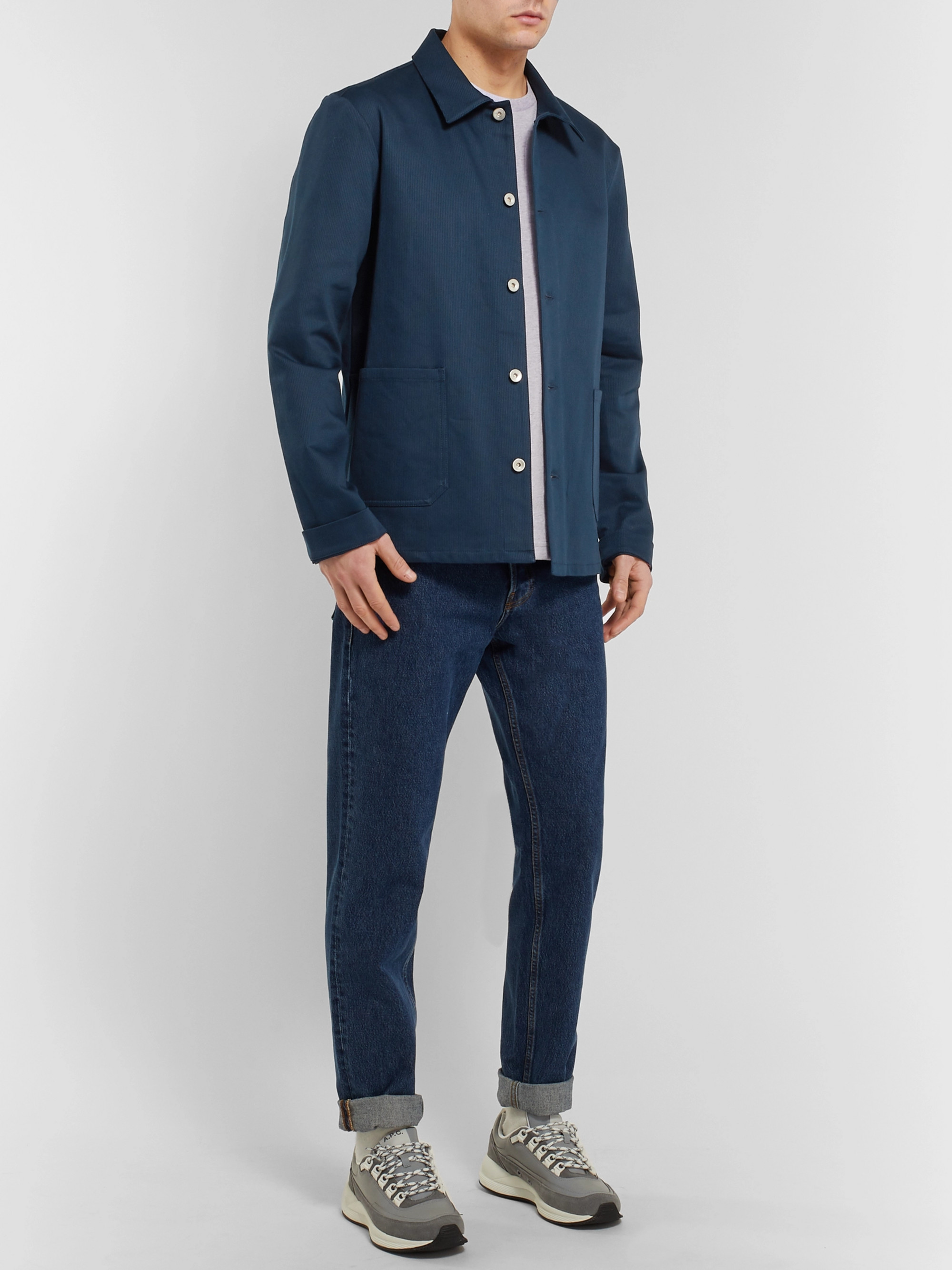 A.P.C. Kerlouan Stretch-Cotton Chore Jacket