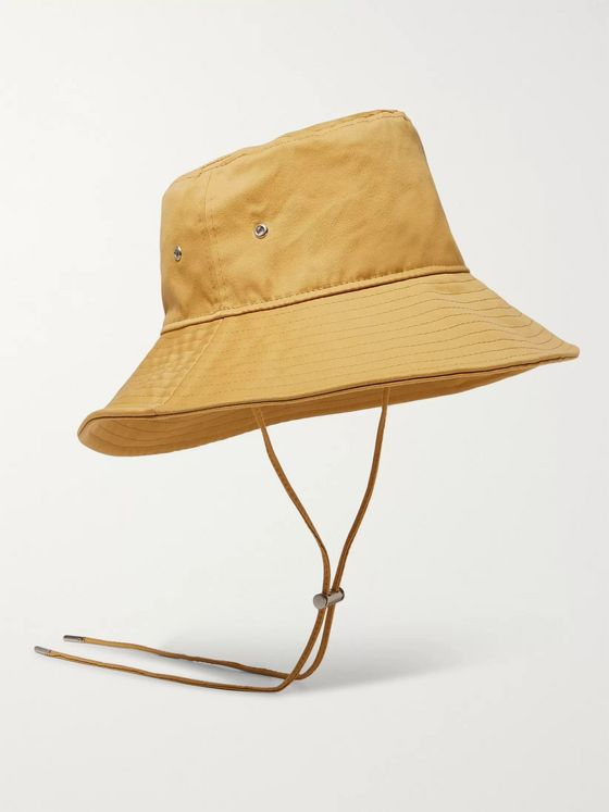 AMI Cotton-Satin Bucket Hat