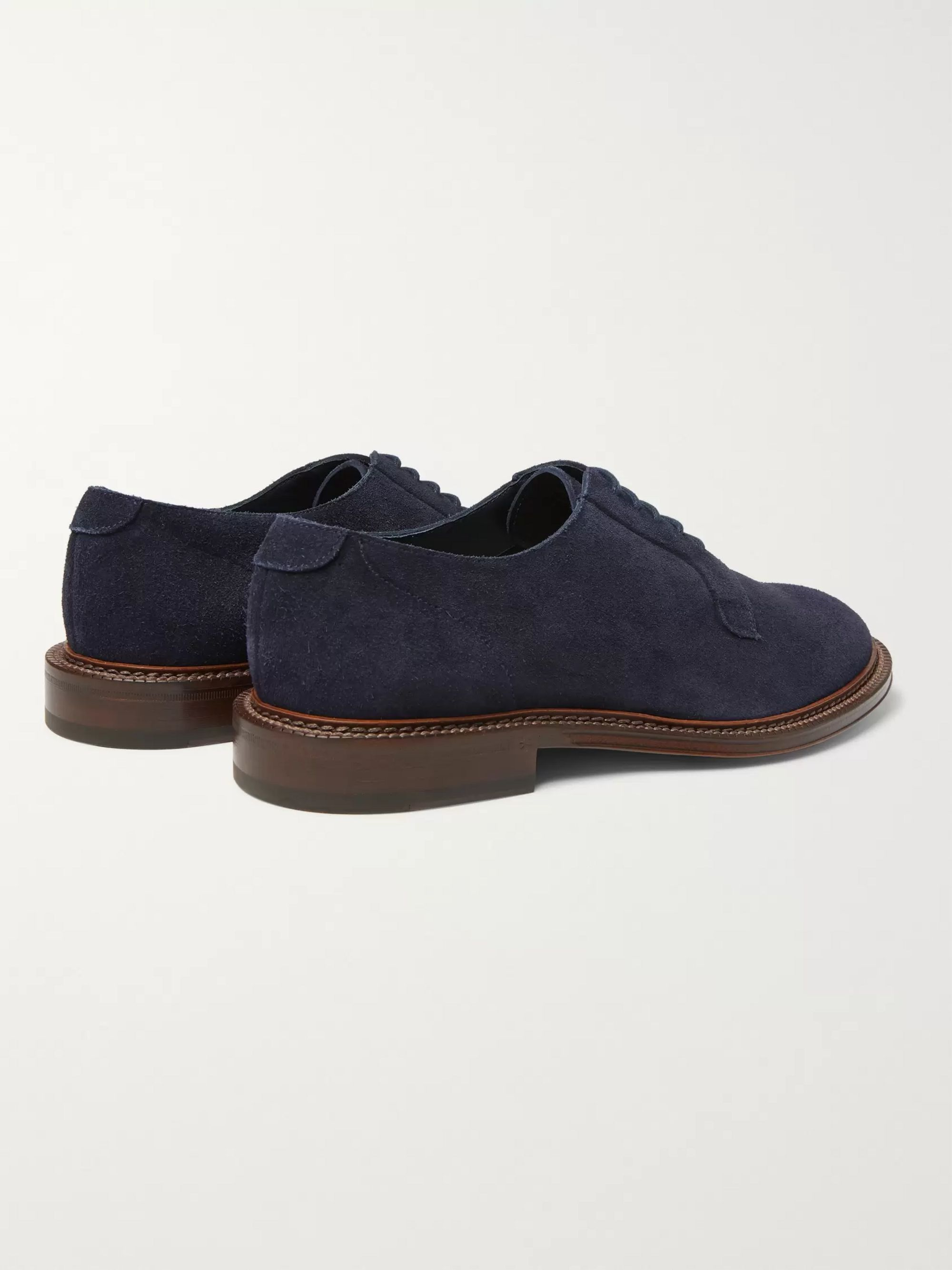 Mr P. Lucien Suede Derby Shoes