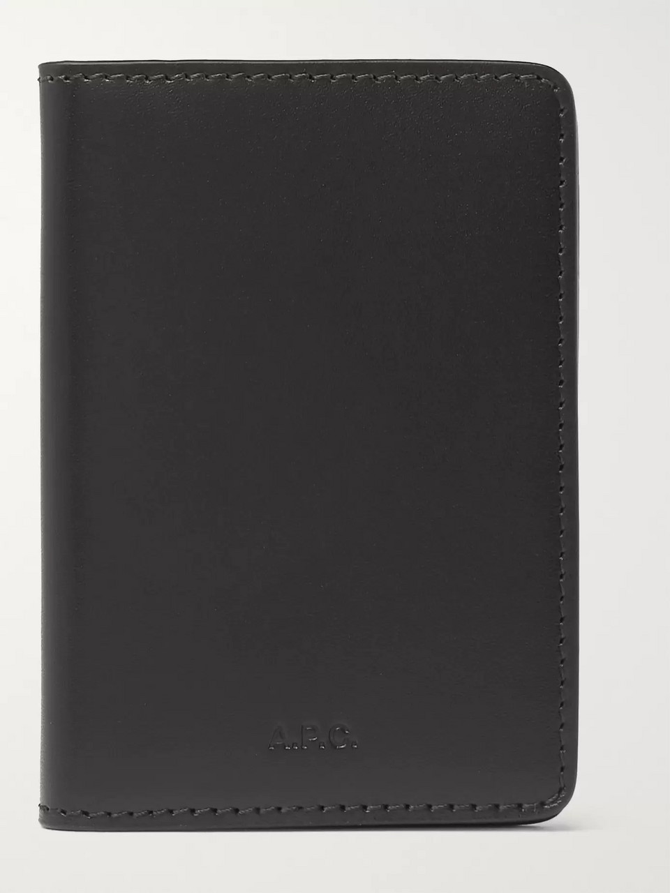 A.P.C. Leather Bifold Cardholder