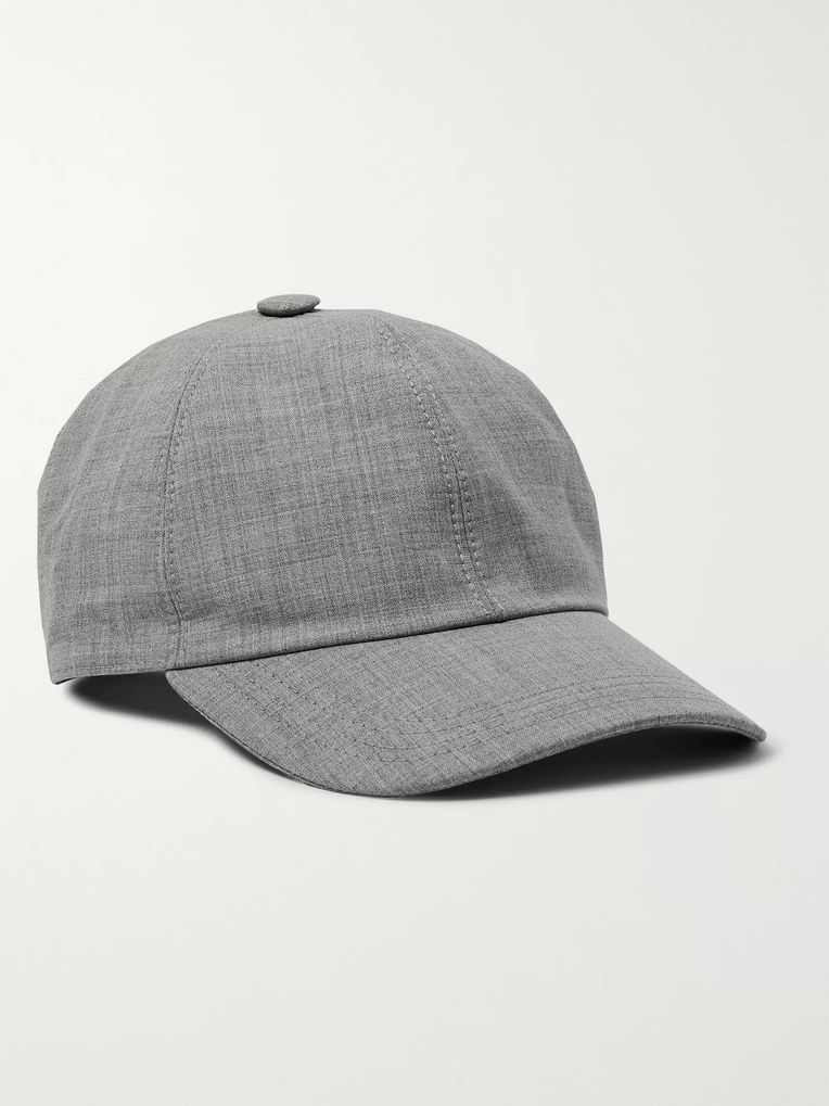 Brunello Cucinelli Wool Baseball Cap