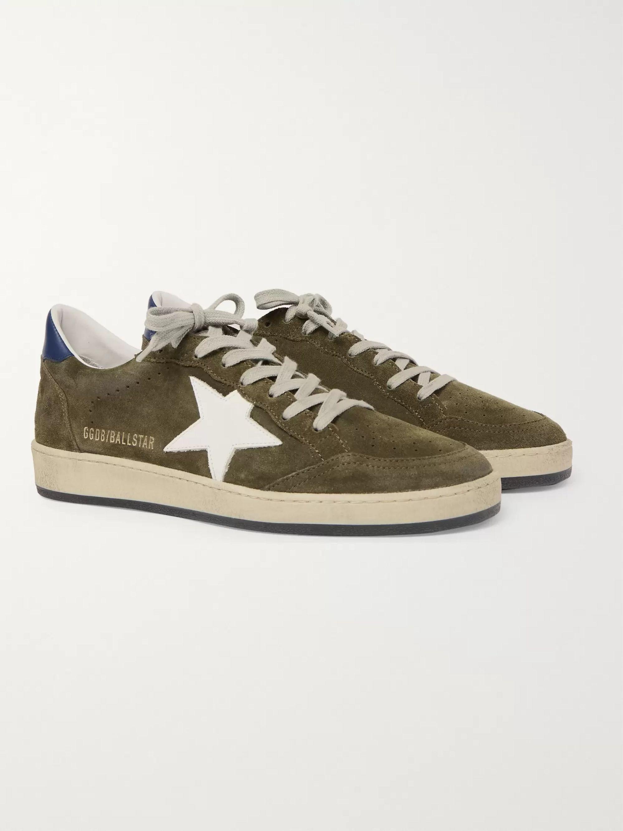 Leather Sneakers   Golden Goose   MR PORTER
