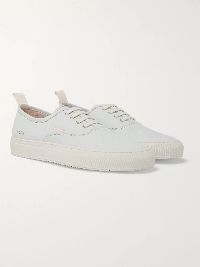 Common Projects Tournament Four Hole Nubuck Sneakers