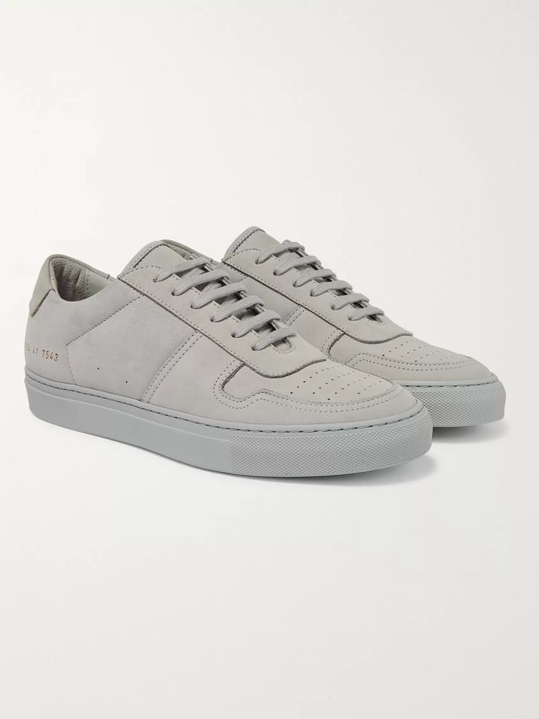 Common Projects BBall Suede Sneakers