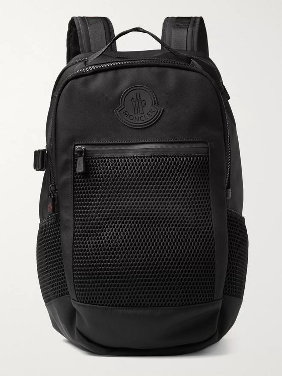 MONCLER Gilles CORDURA Nylon and Mesh Backpack