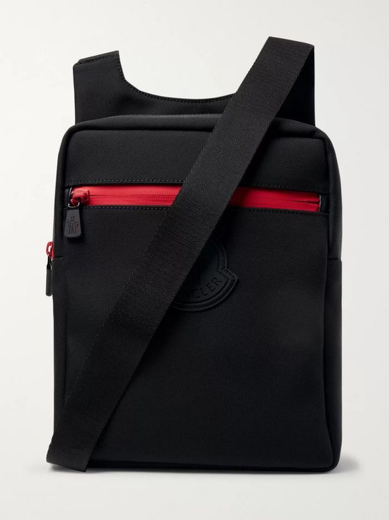 Moncler Canvas Messenger Bag