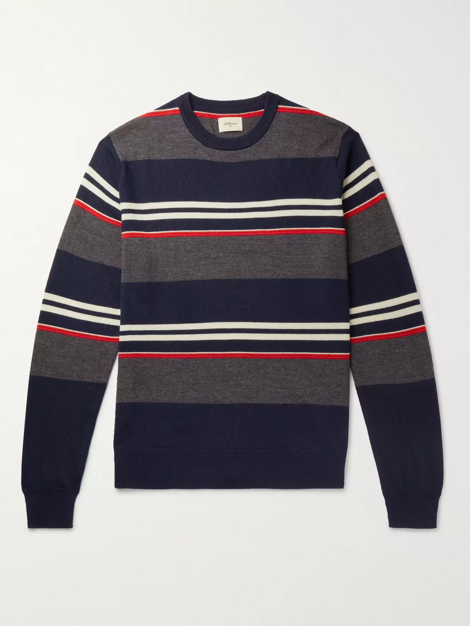 Bellerose Striped Wool Sweater
