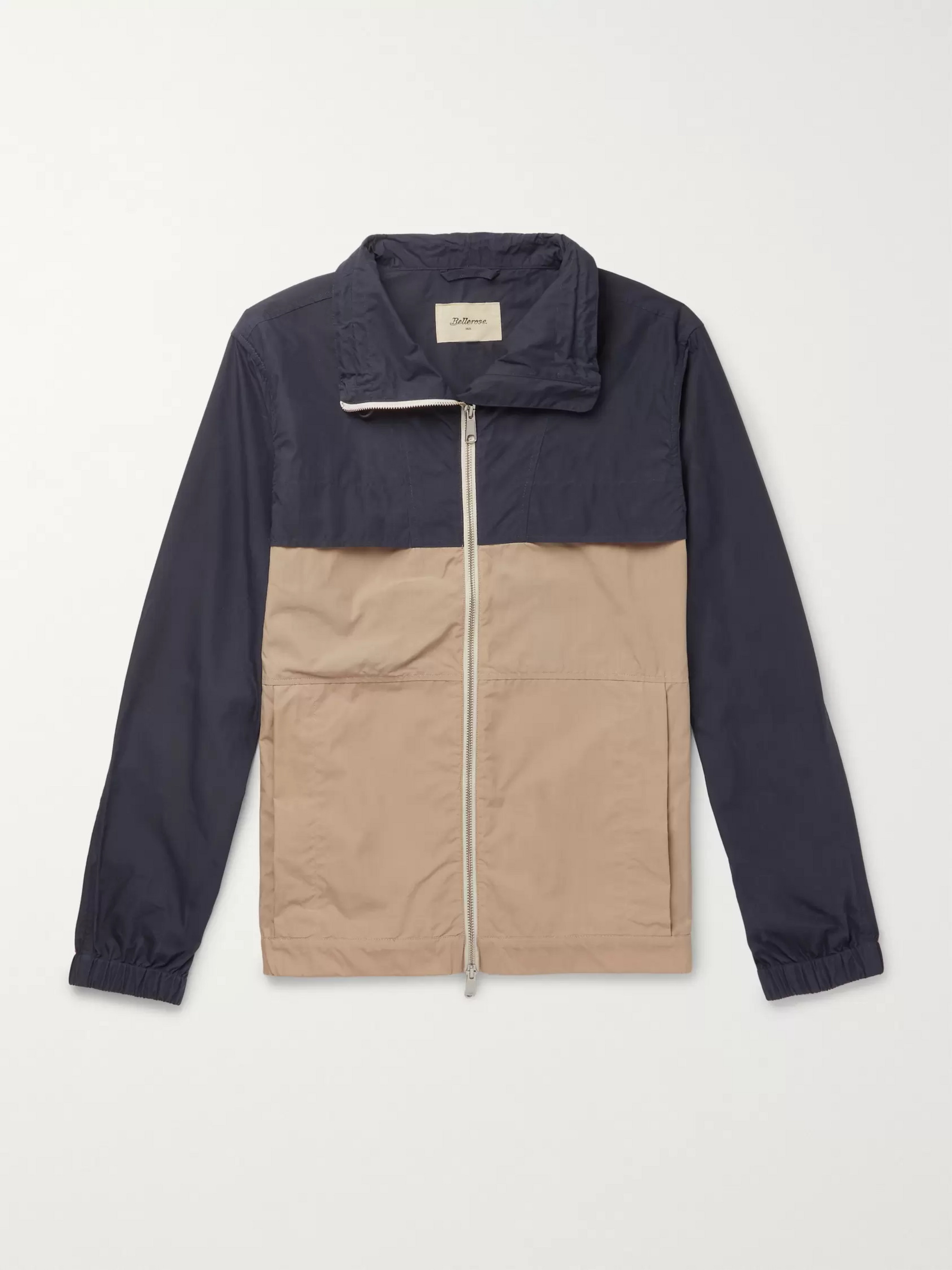 Bellerose Two-Tone Cotton-Blend Jacket