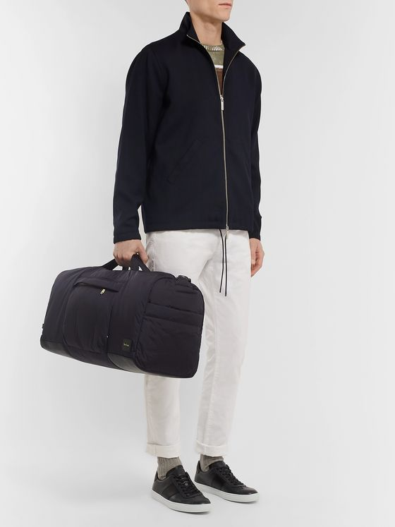 Paul Smith Leather-Trimmed Shell Holdall