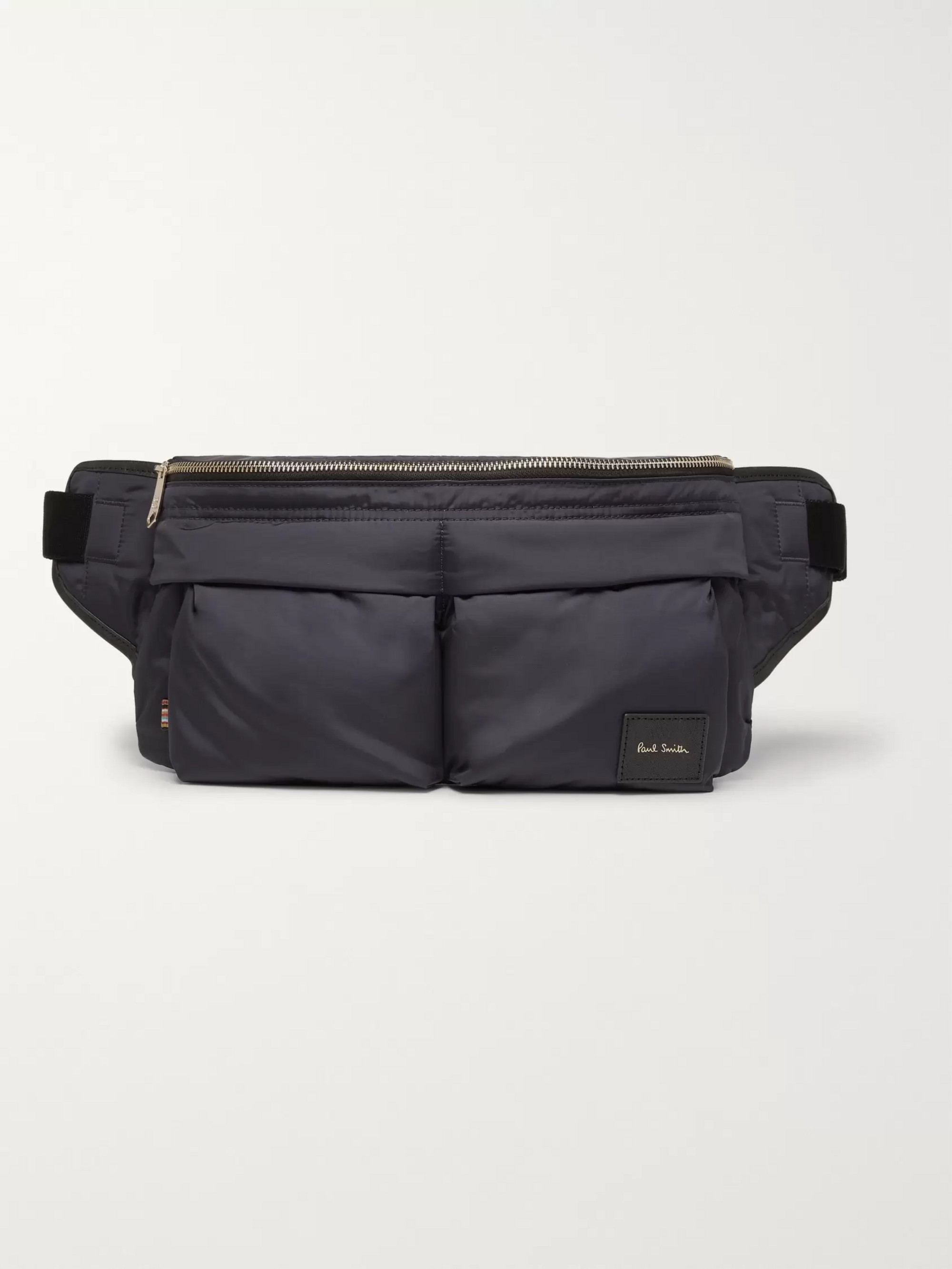 Paul Smith Leather-Trimmed Shell Belt Bag