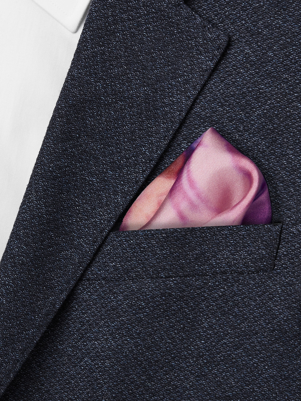 Paul Smith Printed Silk-Twill Pocket Square