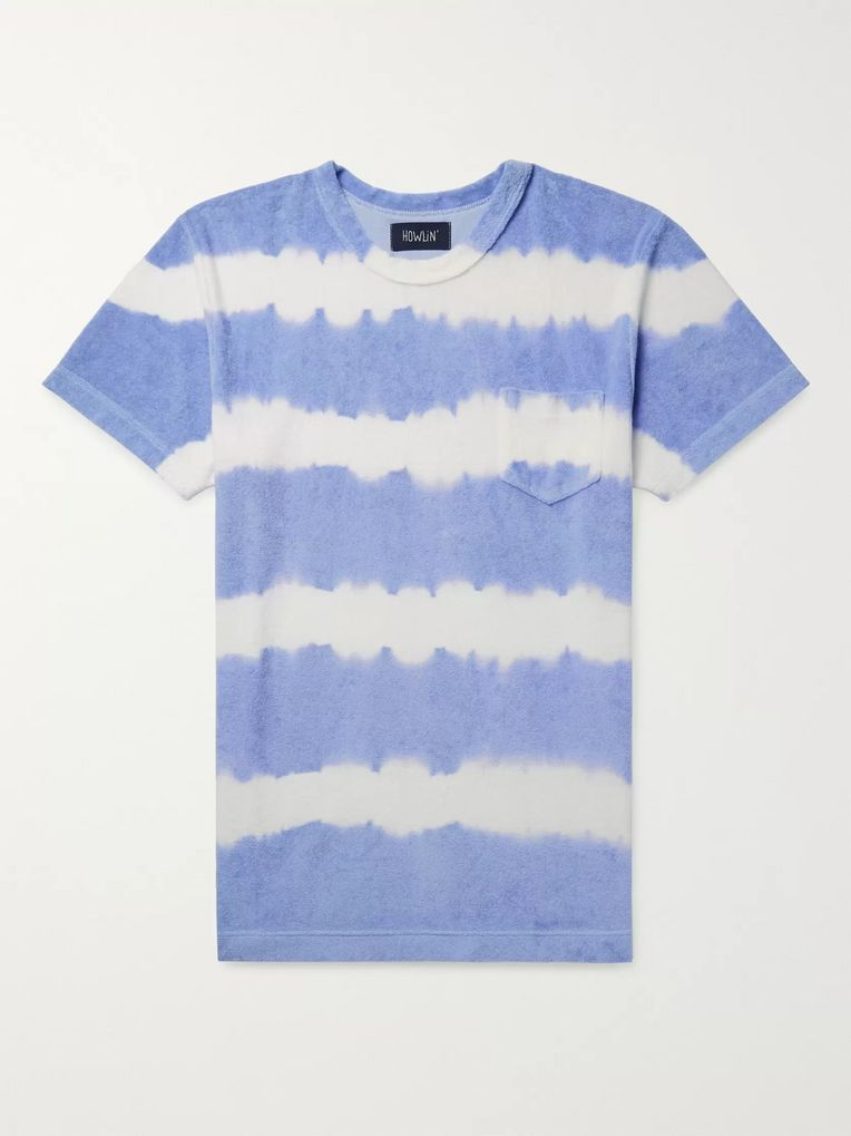 Howlin' Tie-Dyed Cotton-Blend Terry T-Shirt