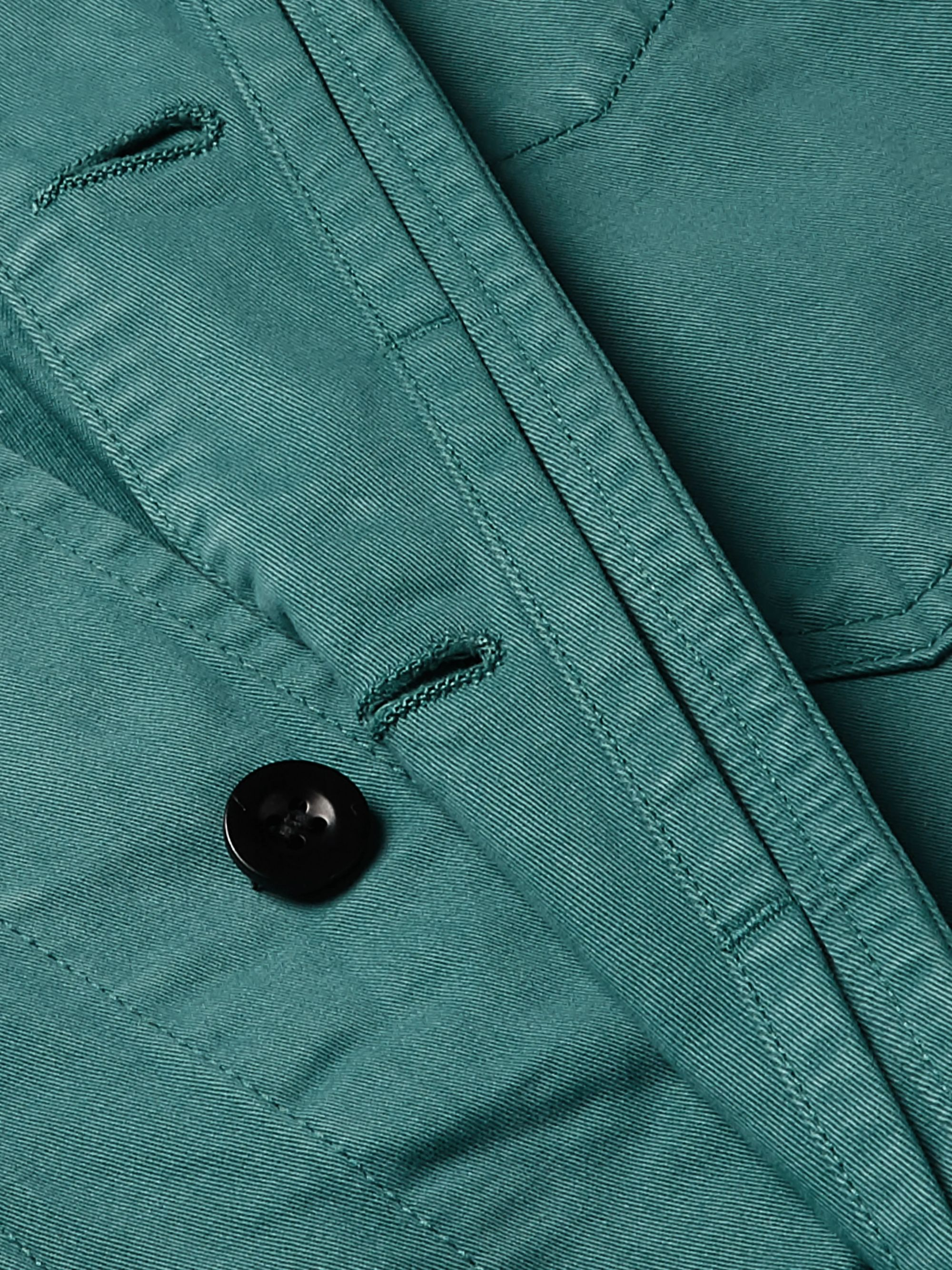 Mr P. Garment-Dyed Cotton-Twill Jacket