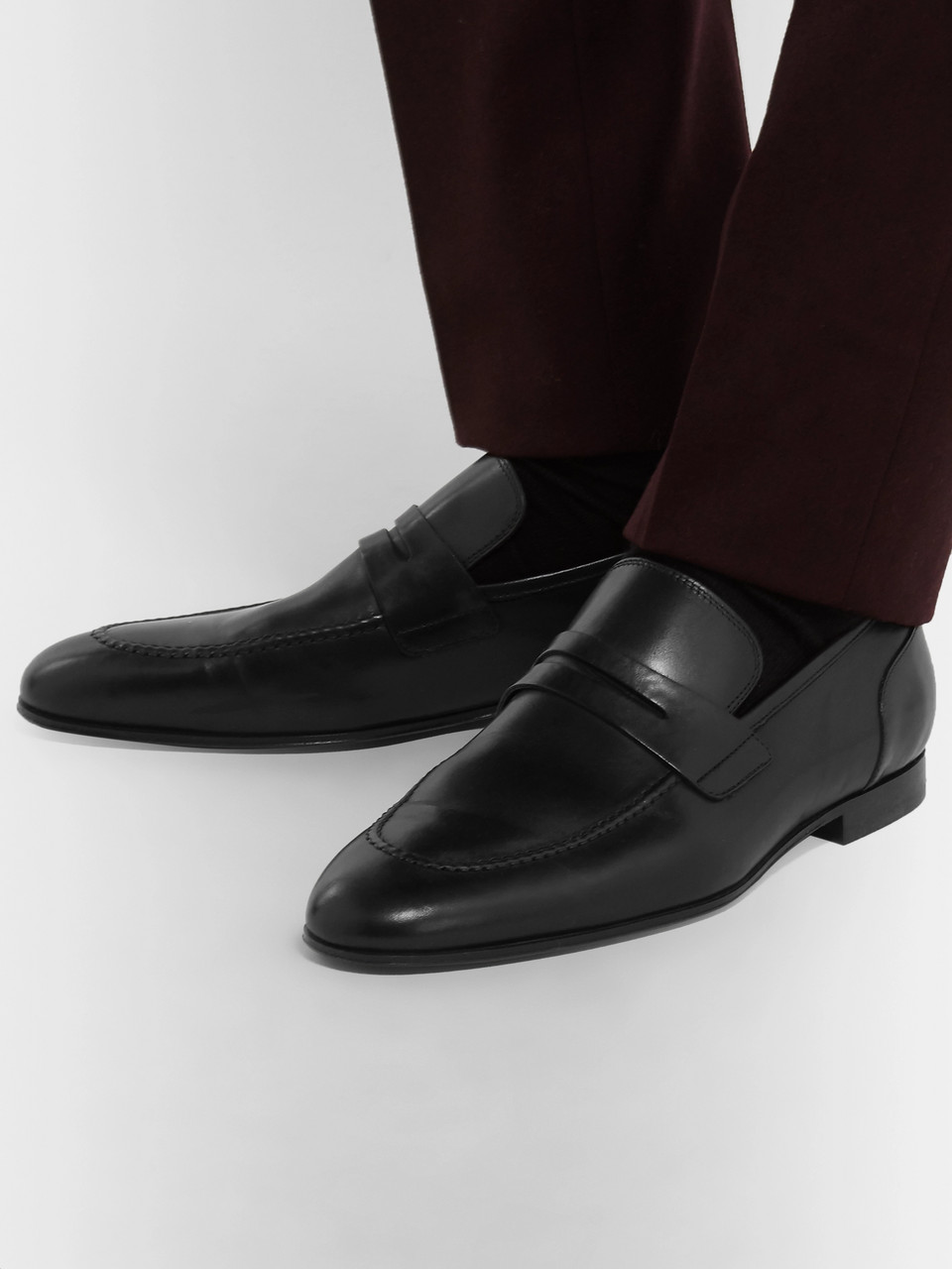 091e22d3a9d Paul Smith Chilton Leather Penny Loafers