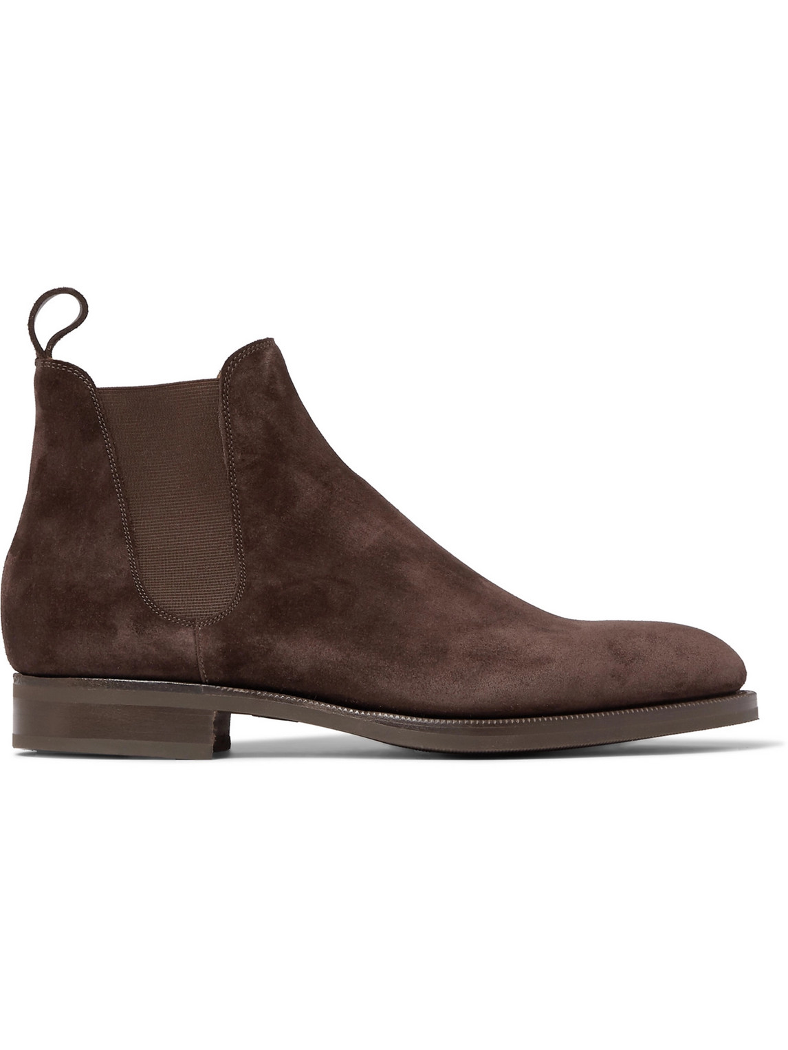 edward green - camden suede chelsea boots - men - brown - uk 10.5
