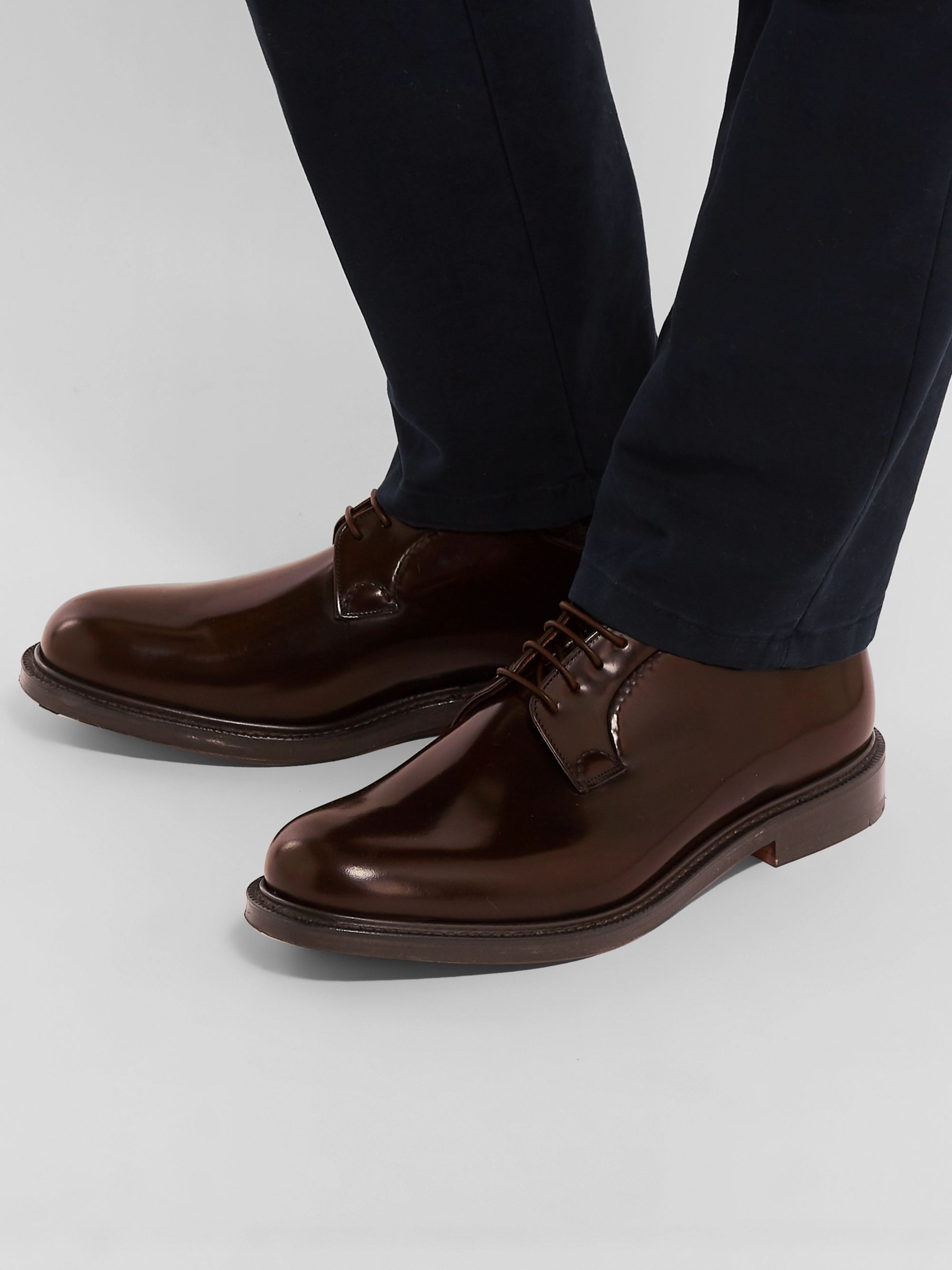 Church's Shannon Polished-Leather Derby Shoes
