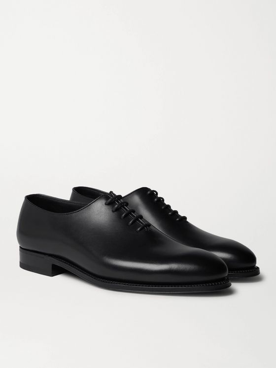 J.M. Weston Whole-Cut Leather Oxford Shoes