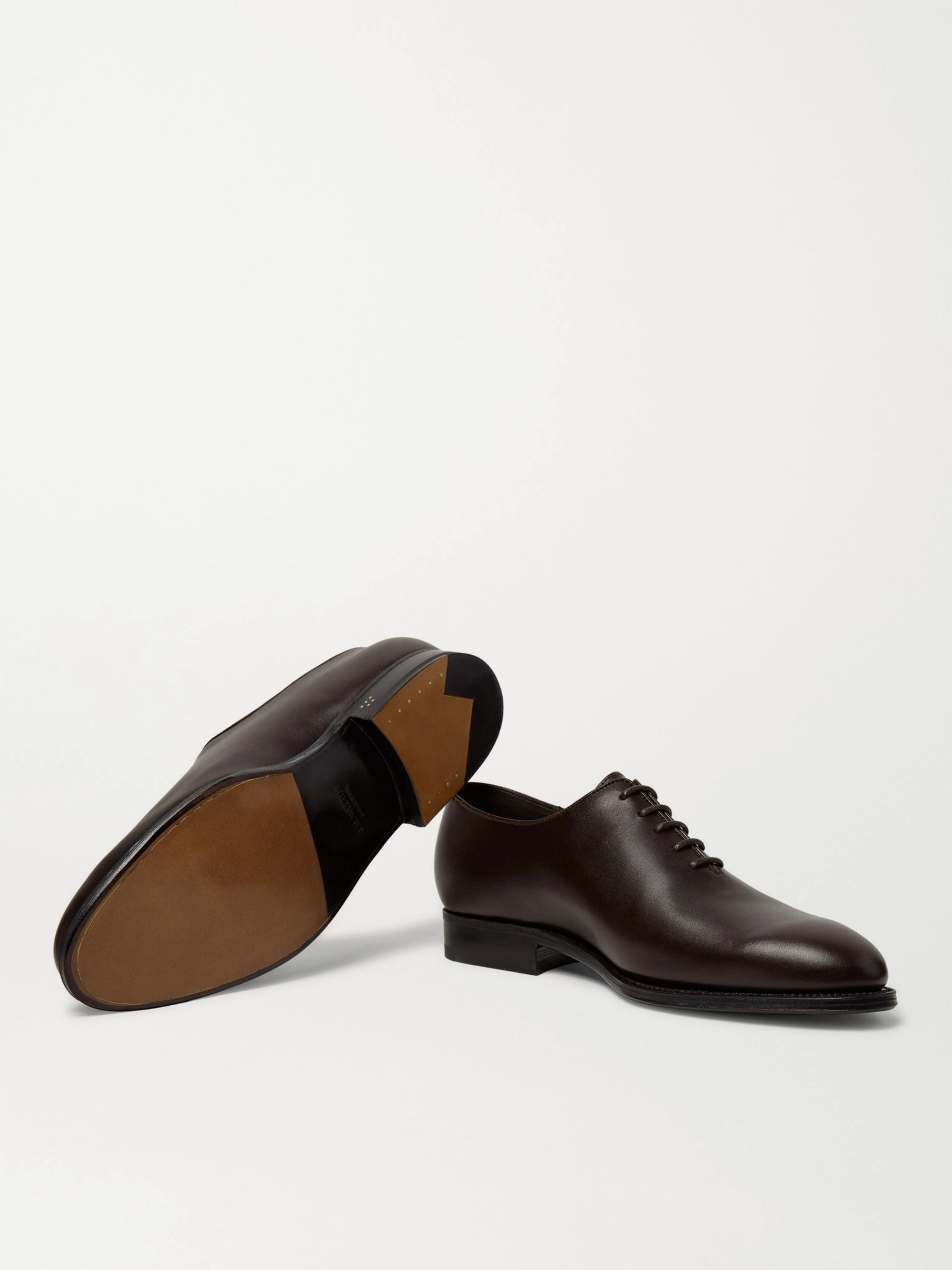J.M. Weston Rémi Whole-Cut Leather Oxford Shoes