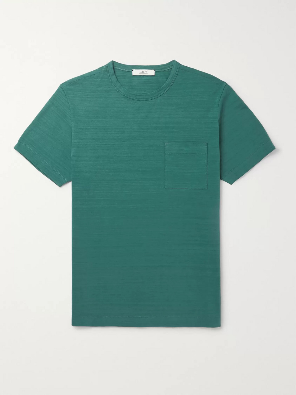 Mr P. Slub Cotton-Jersey T-Shirt