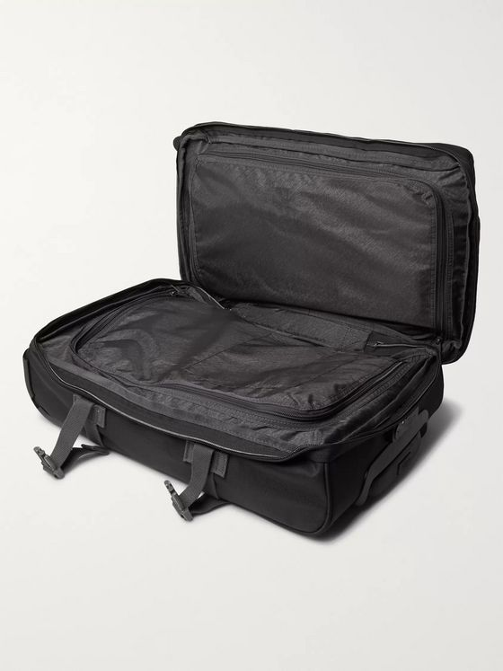Eastpak Tranverz S 51cm Leather-Trimmed Canvas Suitcase