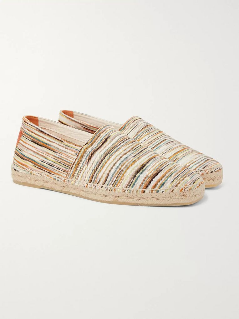Castañer + Missoni Space-Dyed Canvas Espadrilles