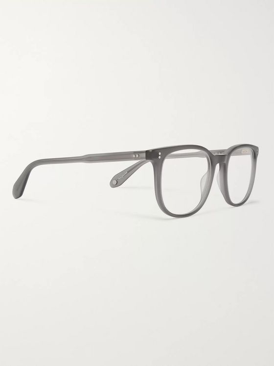 Garrett Leight California Optical Bentley 51 Square-Frame Matte-Acetate Optical Glasses