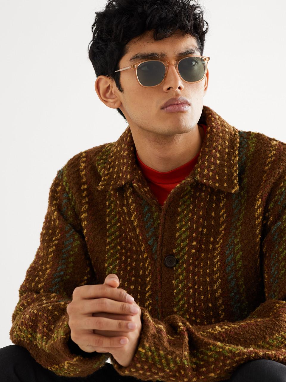 4282c3642bc Garrett Leight California Optical Kinney 49 Square-Frame Acetate Sunglasses