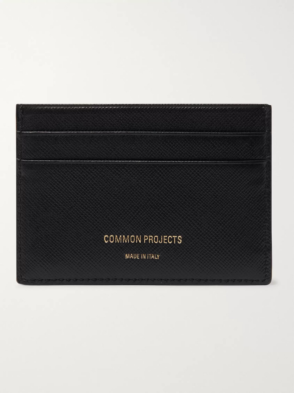 Common Projects Cross-Grain Leather Cardholder