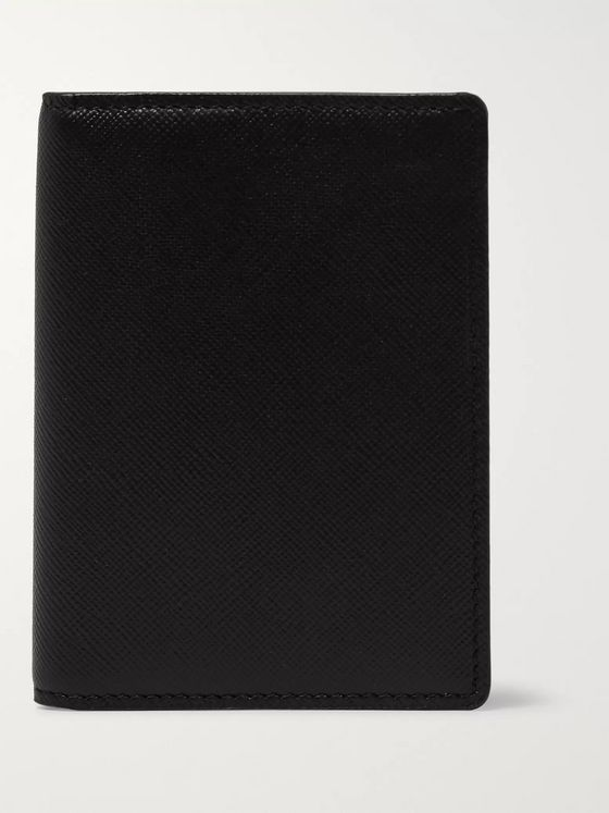 Common Projects Cross-Grain Leather Bifold Cardholder