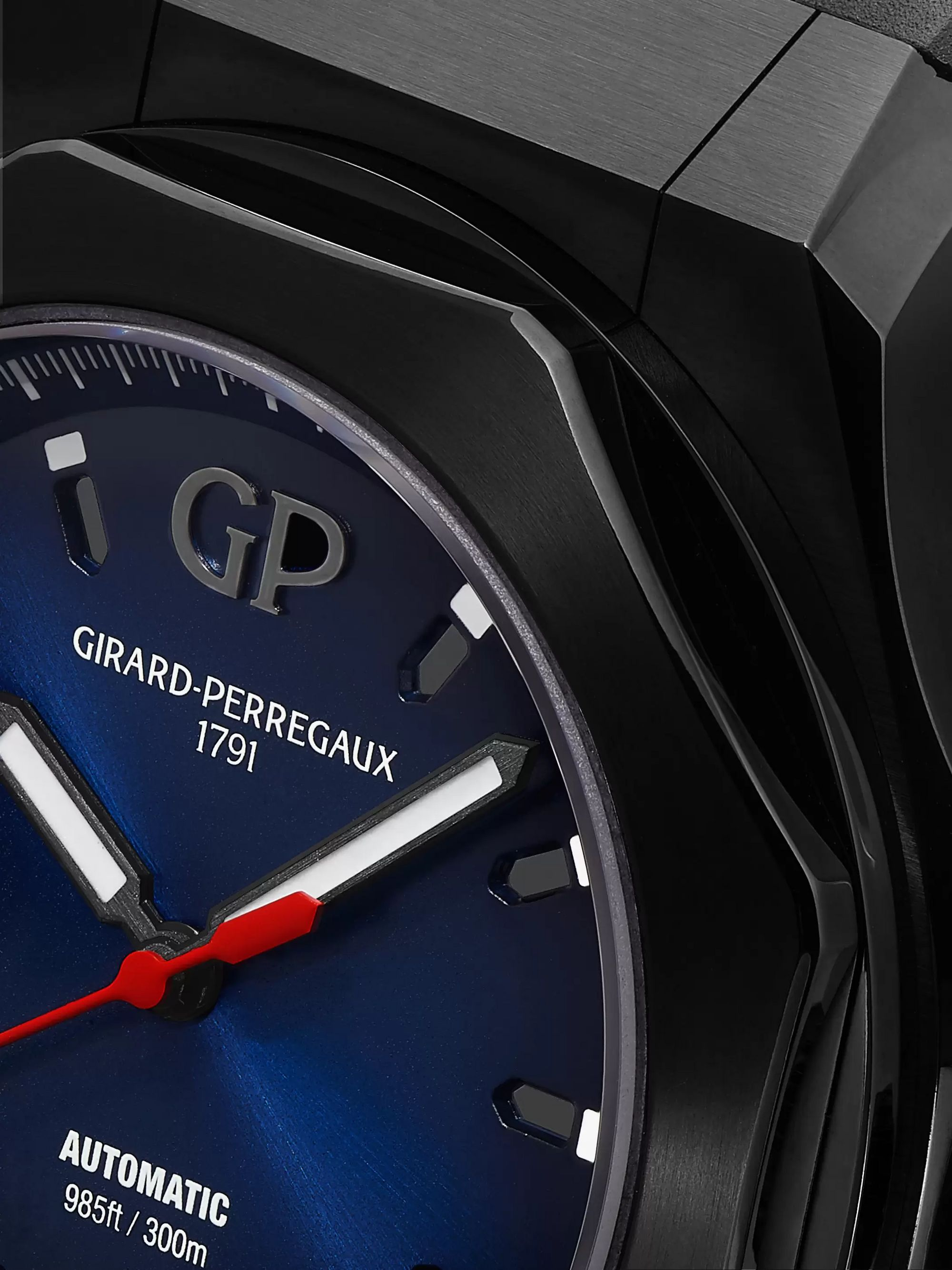 Girard-Perregaux Laureato Absolute Automatic 44mm Titanium and Rubber Watch, Ref. No. 81070-21-491-FH6A