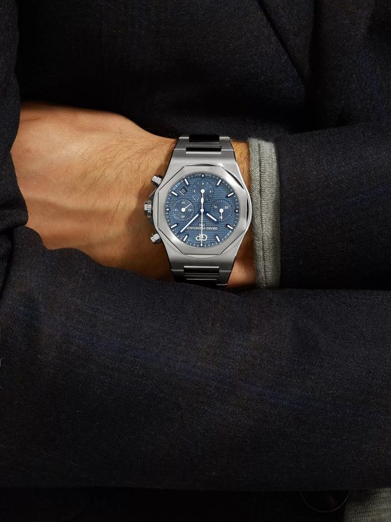 GIRARD-PERREGAUX Laureato Chronograph Automatic 42mm Stainless Steel Watch, Ref. No. 81020-11-431-11A