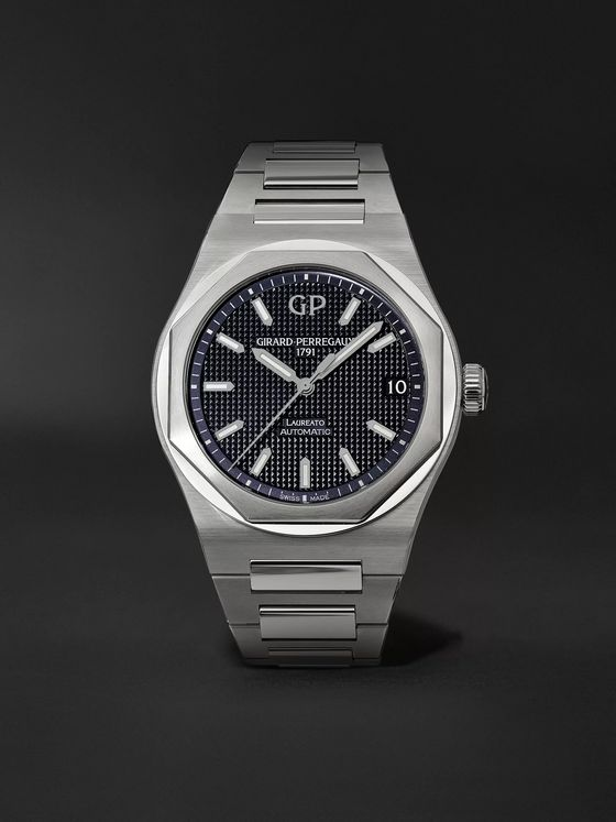 Girard-Perregaux Laureato Automatic 42mm Stainless Steel Watch, Ref. No.  81010-11-431-11A