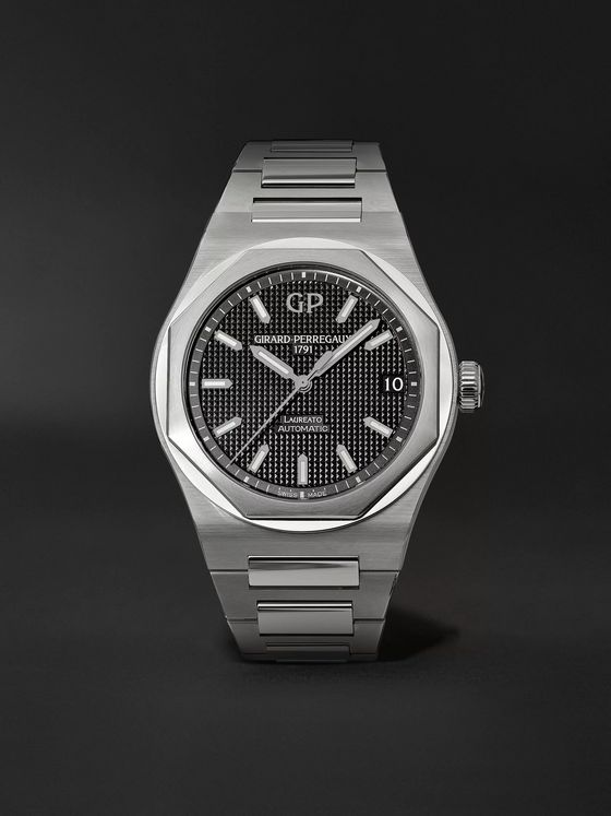 Girard-Perregaux Laureato Automatic 42mm Stainless Steel Watch, Ref. No. 81010-11-634-11A