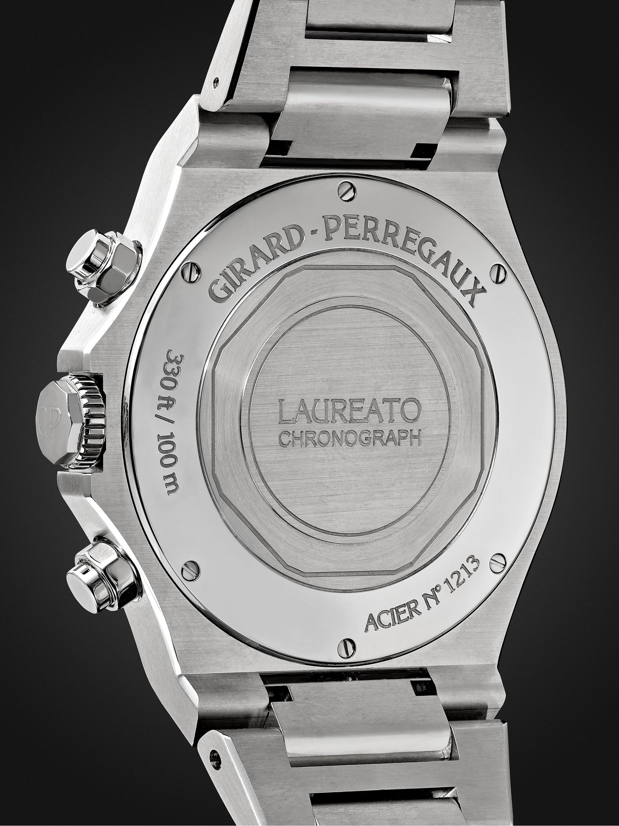 Girard-Perregaux Laureato Chronograph Automatic 42mm Stainless Steel Watch, Ref. No. 81020-11-131-11A