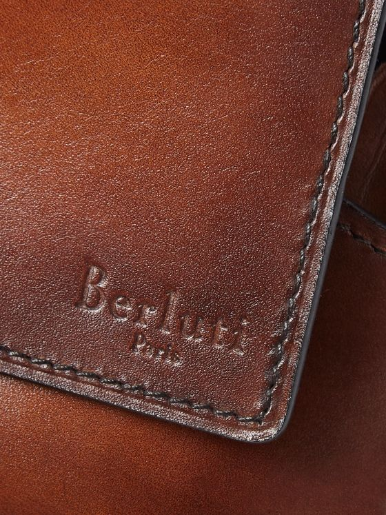 Berluti Leather Sunglasses Case