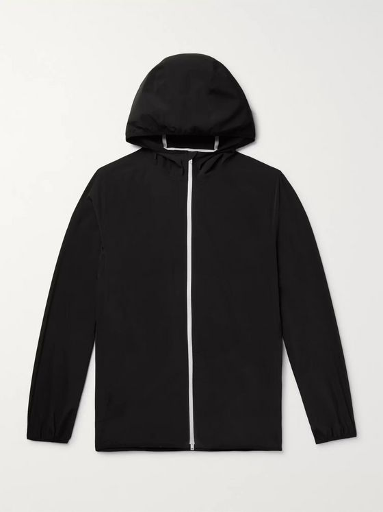 Theory Hector Nylon-Blend Shell Hooded Jacket